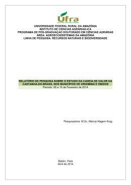 universidade federal rural da amazônia instituto de ciencias