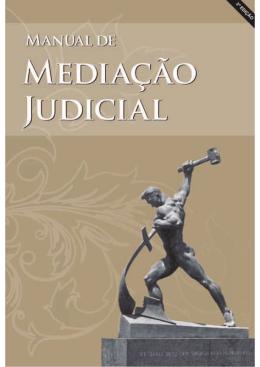 Manual de Mediação Judicial - Tribunal de Justiça do Estado do Rio
