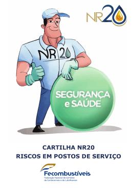 CARTILHA NR20 RISCOS EM POSTOS DE SERVIÇO