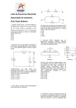 Resistores -Prof Paulo Roberto