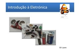 Introdução à Eletrónica