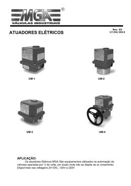 Manual Atuador Elétrico - Rev 03