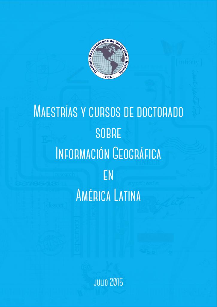 Omar Codazzi Calendario.Maestrias Y Cursos De Doctorado Sobre Informacion