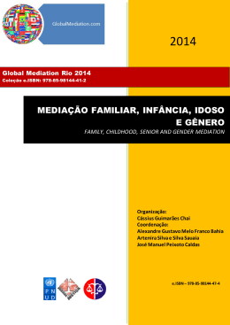 mediação familiar, infância, idoso e gênero