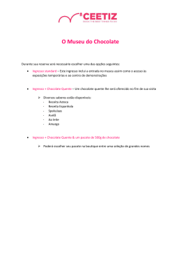 O Museu do Chocolate