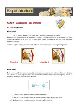 Leis de Newton - Explicatorium