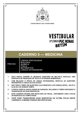 prova - PUC Minas