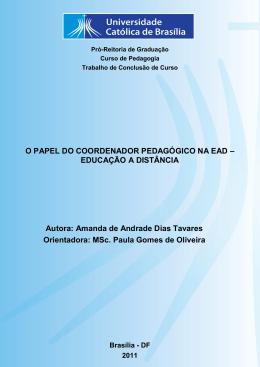 TCC AMANDA DE ANDRADE PDF - Universidade Católica de