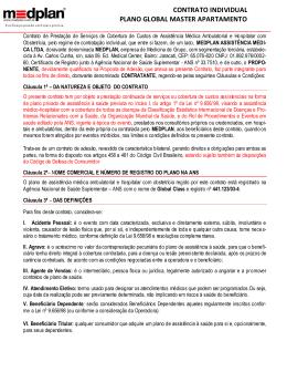 Contrato de Prestação de Serviços de Cobertura de