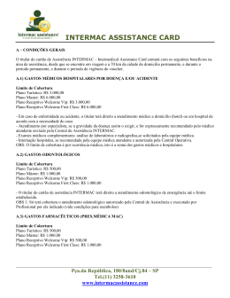 INTERMAC ASSISTANCE CARD