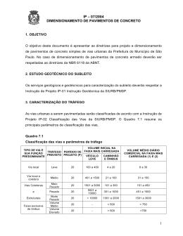 Quadro 7.1 - Prefeitura de São Paulo