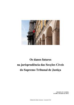 Danos Futuros - Supremo Tribunal de Justiça