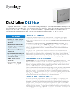 DiskStation DS216se