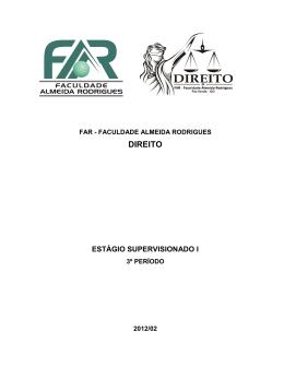 NÚCLEO DE PRÁTICA SIMULADA - Faculdade Almeida Rodrigues