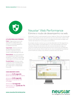 Neustar® Web Performance