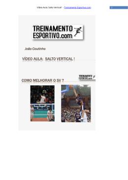 vídeo aula: salto vertical - Treinamento Esportivo.com