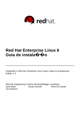 o Instalador - Red Hat Customer Portal