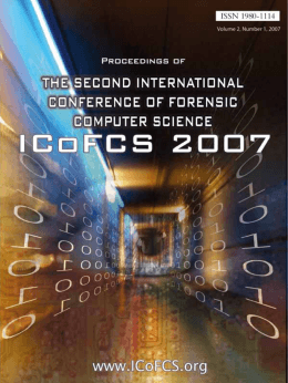 click here - the international conference on forensic computer