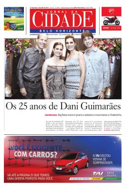 Os 25 anos de Dani Guimarães