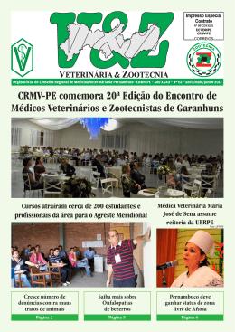 CRMV-PE comemora 20ª Edição do Encontro de Médicos