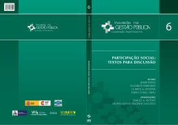 Vol. 6 - Participação Social: Textos para Discussão.