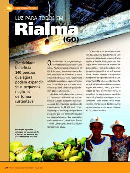 Luz Para Todos em Rialma (GO)