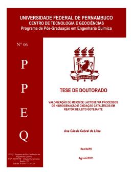 P P E Q - Universidade Federal de Pernambuco