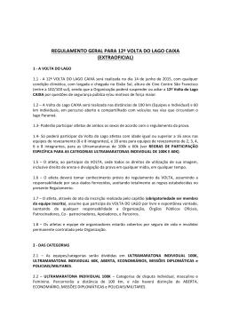 regulamento geral para 12ª volta do lago caixa (extraoficial)