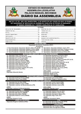 Diário nº 120 12/08/2015 - Assembleia Legislativa do Estado do