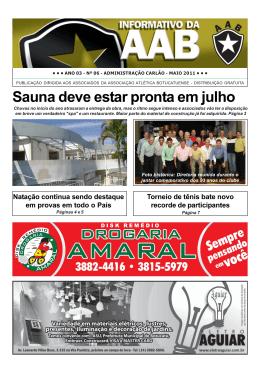 nº 06 - administração carlão - maio 2011