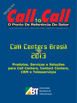 Consulte. - Call to Call