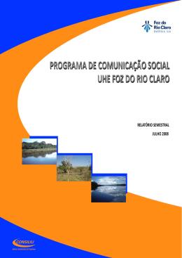 PROGRAMA DE COMUNICAÇÃO SOCIAL UHE
