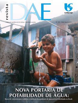 NOVA PORTARIA DE POTABILIDADE DE ÁGUA