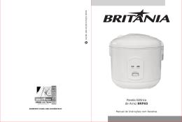 403 05 00 Rev0 Folheto de Instruções Panela Elétrica de Arroz