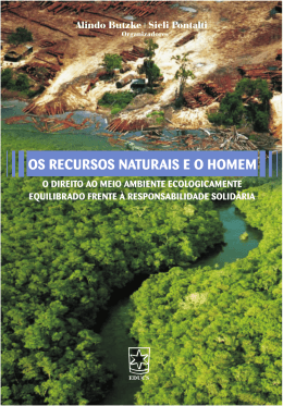 Os recursos naturais e o homem