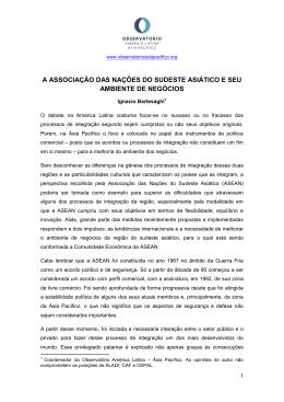 Observatório América Latina-Ásia Pacífico