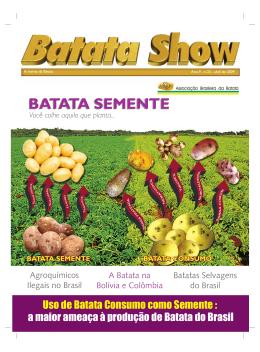 BATATA SEMENTE BATATA SEMENTE - Associação Brasileira da
