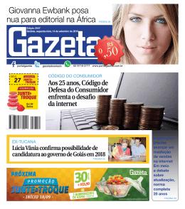 Edição 2547 - Jornal Gazeta do Estado