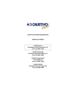 Arquivo pdf - Objetivo São Sebastião