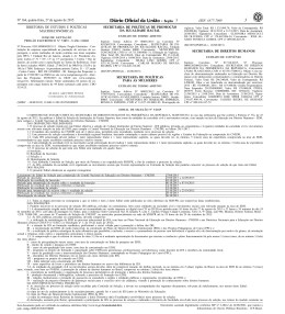 ISSN 1677-7069 - Secretaria de Direitos Humanos