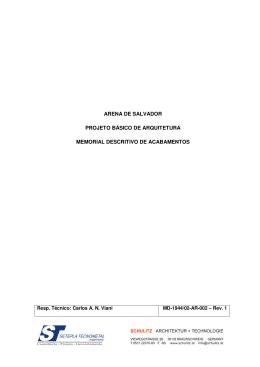 MD-1944-02-AR-002-REV 1 Discrit. de Acabamentos - Sefaz-BA