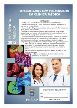 Clínica Médica - PUC-SP
