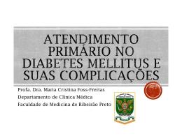 Profa. Dra. Maria Cristina Foss-Freitas Departamento de