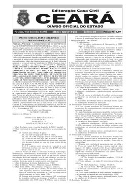 diário oficial do estado série 3 ano iv nº239 fortaleza, 18