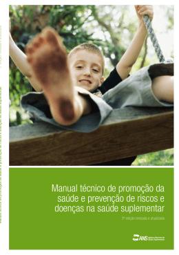 Manual técnico de promoção da saúde e prevenção de riscos
