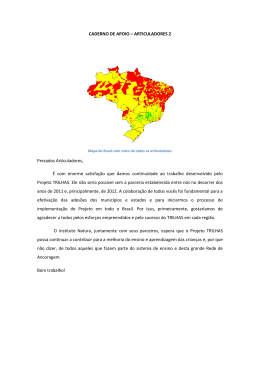 CADERNO DE APOIO – ARTICULADORES 2