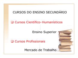 Diapositivo 1 - Secretaria Regional da Educação, Ciência e Cultura