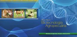 Biotecnologia Agropecuária - Ministério da Agricultura