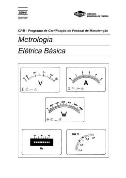 Metrologia Elétrica Básica