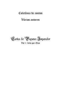 Coletânea de contos Vários autores Cartas do Pequeno
